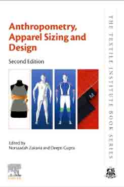 Anthropometry, Apparel Sizing and Design (2nd-Edition)