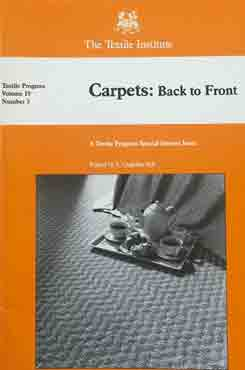 Carpets Back to Front (Vol. 19-No. 3)