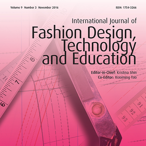 International Journal of Fashion Design, Technology and Education - The Textile Institute